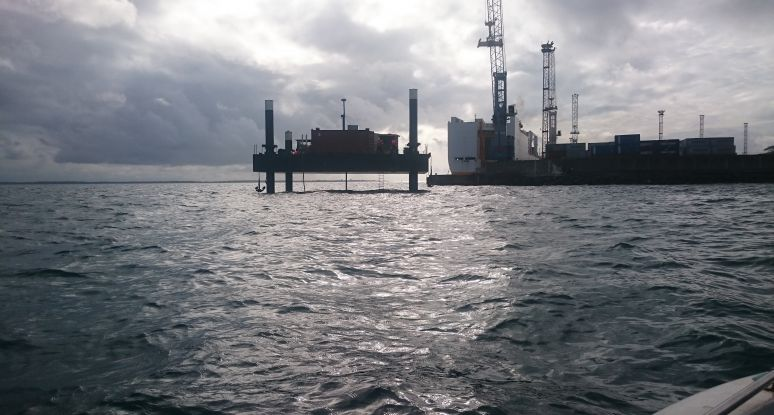 jacking barge Baars for rental or sale