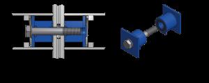 coupling system Baars modular container pontoon