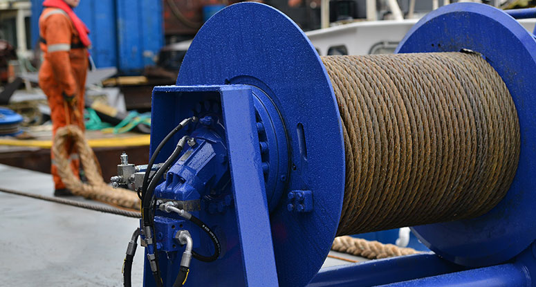winch selftensioning 18 tonnes