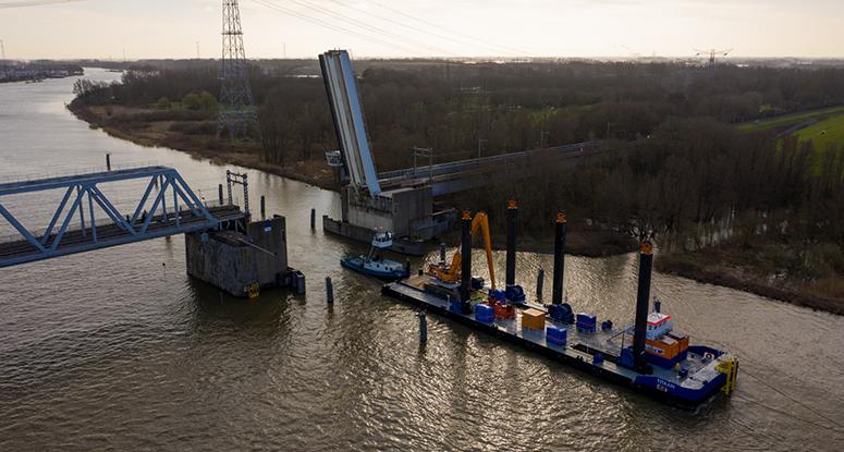 Modular pontoon Titaan zeegaand Baar Sliedrecht