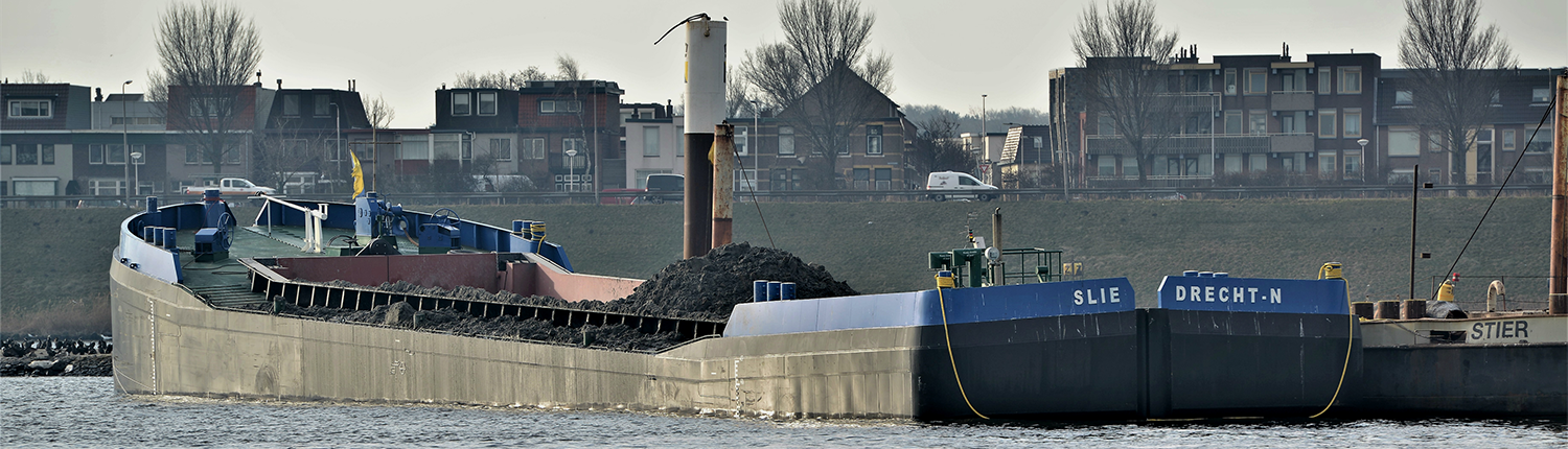 split hopper for dredging works