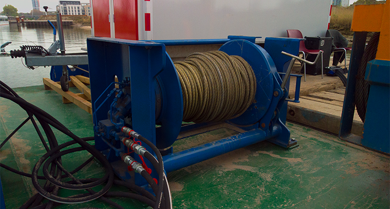 winch 18 tonnes Baars