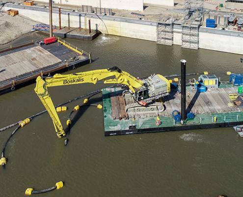 modulaire container pontonBaars