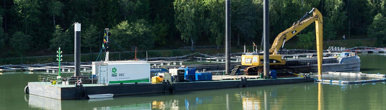 container pontoon Baars Foyle