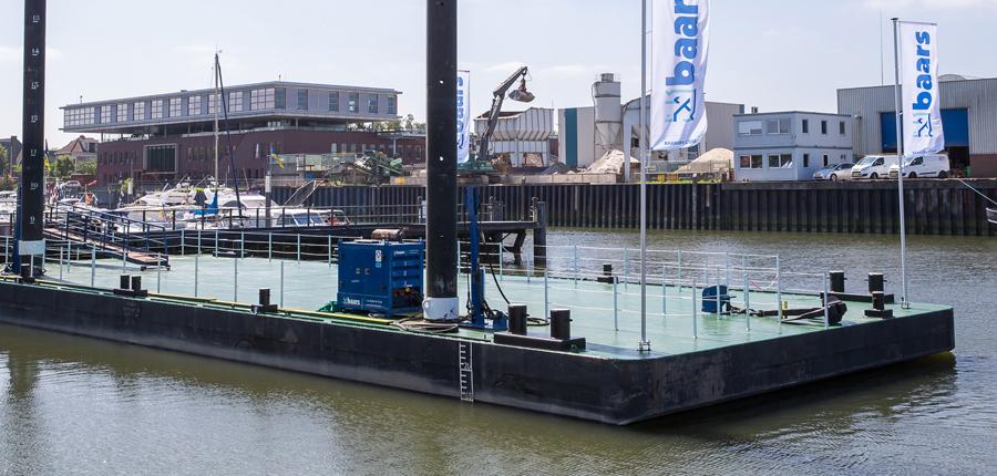 modular pontoons for jetty