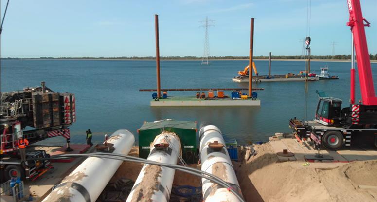 modular pontoons 6' Baars Sliedrecht