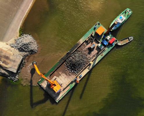 modular barges Baars