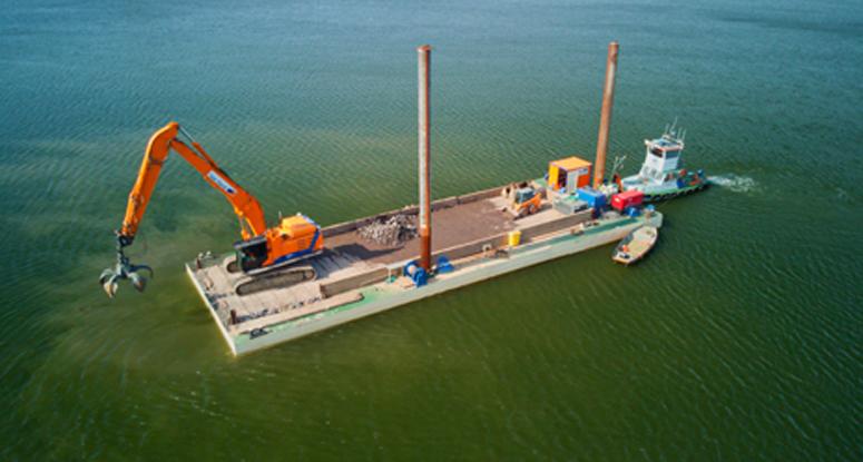 modular cranepontoon Baars