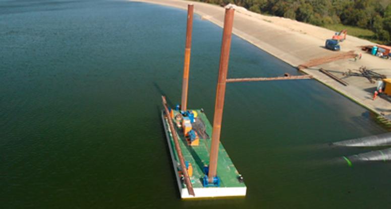 modular pontoons 6' Baars