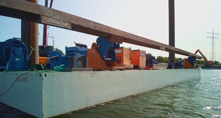 modular pontoon Baars voor afgesloten gebieden
