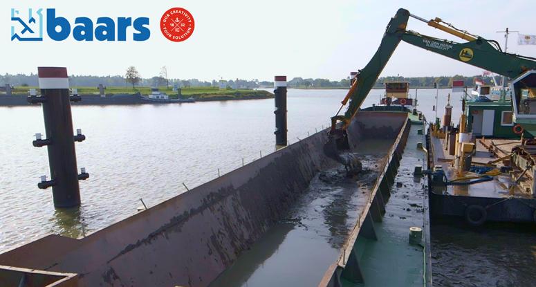 Dredging barges for rental or sale